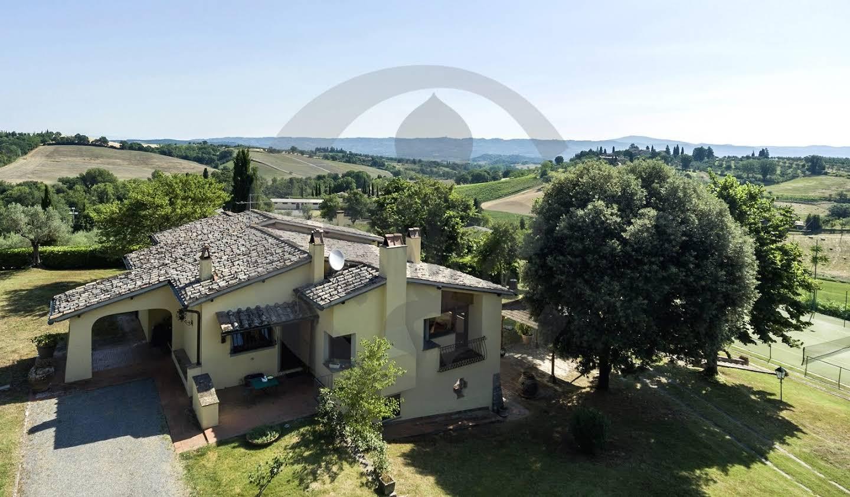 Villa avec piscine et jardin Cetona