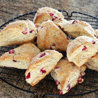 Easy Cranberry Scones with Orange Zest Recipe