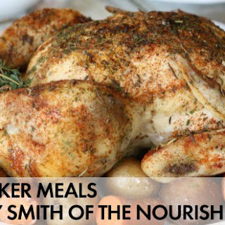 Slow Cooker Rotisserie-Style Chicken.