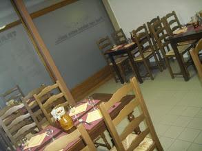 Photo: La salle réservée au repas