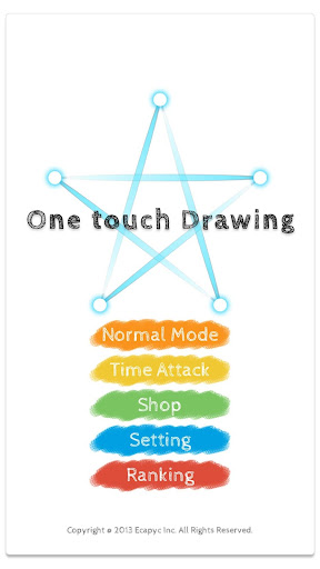 One touch Drawing