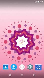 Diwali Rangoli Live Wallpaper - náhled