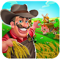 Farm Village City Market & Day Village Farm Game icon