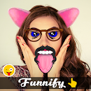 Funnify – funny stickers photo v 1.0 app icon