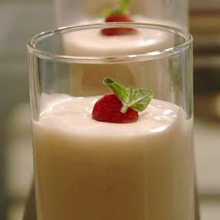 Raspberry White Chocolate Mousse.