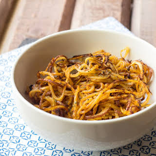 Spicy Spiralized Potatoes.