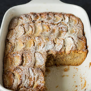 Moist & Tender Apple Cake.