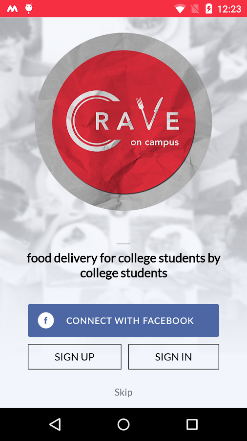 Crave On Campus- screenshot