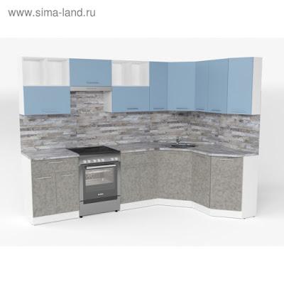 Кухонный гарнитур Наталья оптима 5 2700*1600 мм