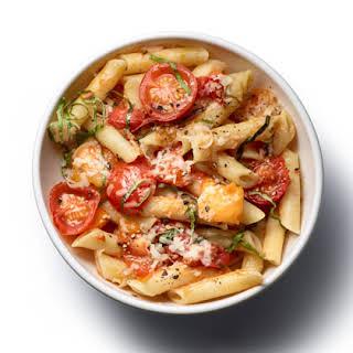Rigatoni Pasta With Tomato Sauce Recipes.