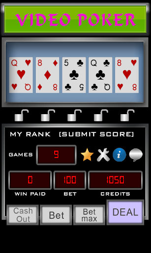 Video Poker apktreat screenshots 1