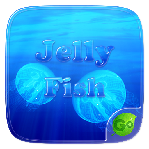 Jelly Fish Go Keyboard Theme