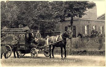 """Photo: 1910  Bierbrouwerij """"De Drie Linden Prinsenhage"""""""