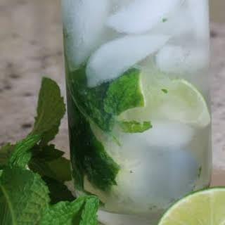 Mint Gin Rickey.