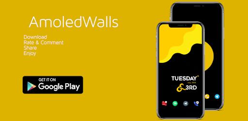 AmoledWalls - Wallpaper [S10 hole punch Walls] APK 0