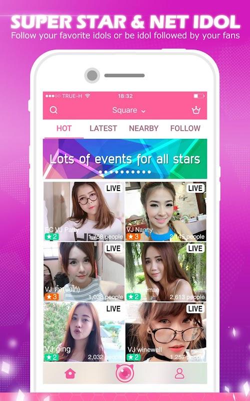 MLive : Hot Live Show screenshots