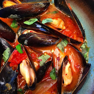 Spicy Mussels with Wine and Chorizo Recipe