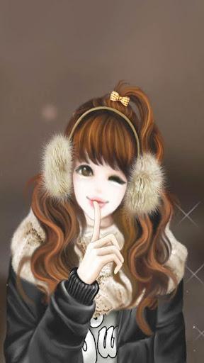 Cute Laura Wallpaper HD 4K screenshot 6