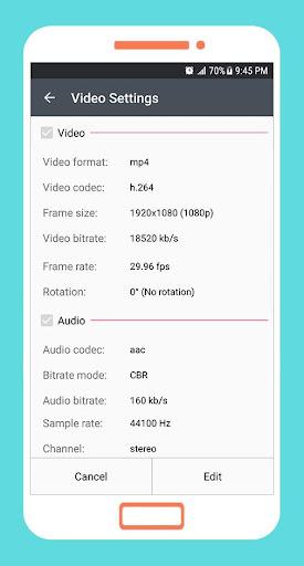 to mp4 3gp webm video converter app screenshot 3