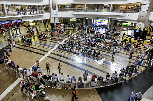 DA shadow minister of police Zakhele Mbhele said there was inadequate crime intelligence at OR Tambo International Airport.