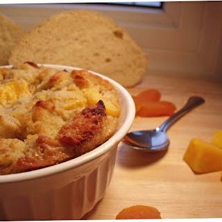 Mango Apricot Bread Pudding #CADairyHealthy #spon