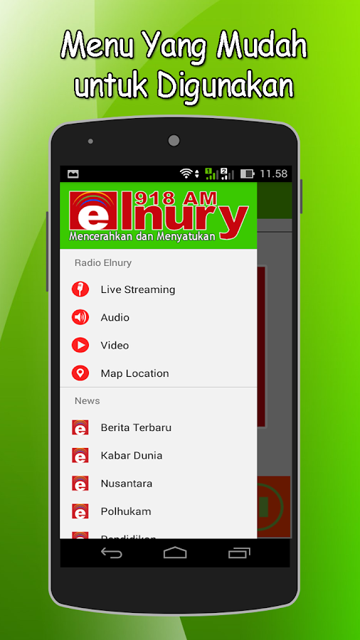 Radio Elnury- screenshot