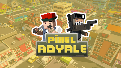 PIXEL ROYALE™ GUN 3D MOBILE UNKNOWN BATTLE GROUND APK MOD (Astuce) screenshots 1