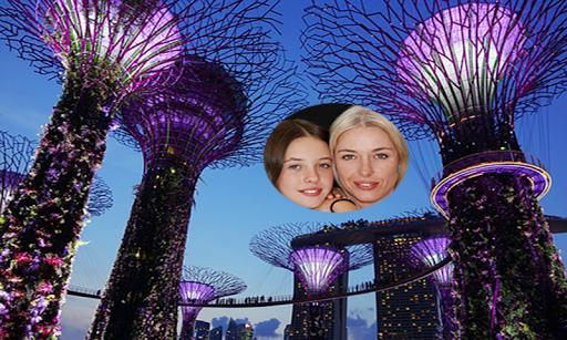 Asia Top City Photo Frame