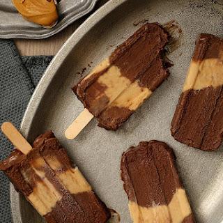 Chocolate Peanut Butter Fudgesicles