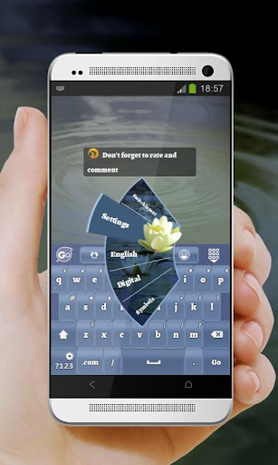 玩免費個人化APP|下載百合片 GO Keyboard Theme app不用錢|硬是要APP