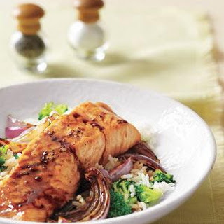 Salmon Rice And Broccoli Recipes.