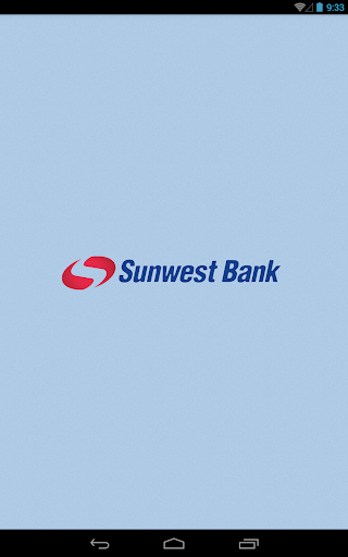Sunwest Bank Tablet
