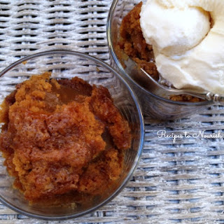 Gooey Pumpkin Pudding Cake - Gluten Free
