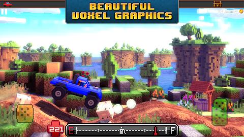 Blocky Roads Screenshot 2