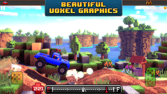 Blocky Roads Screenshot
