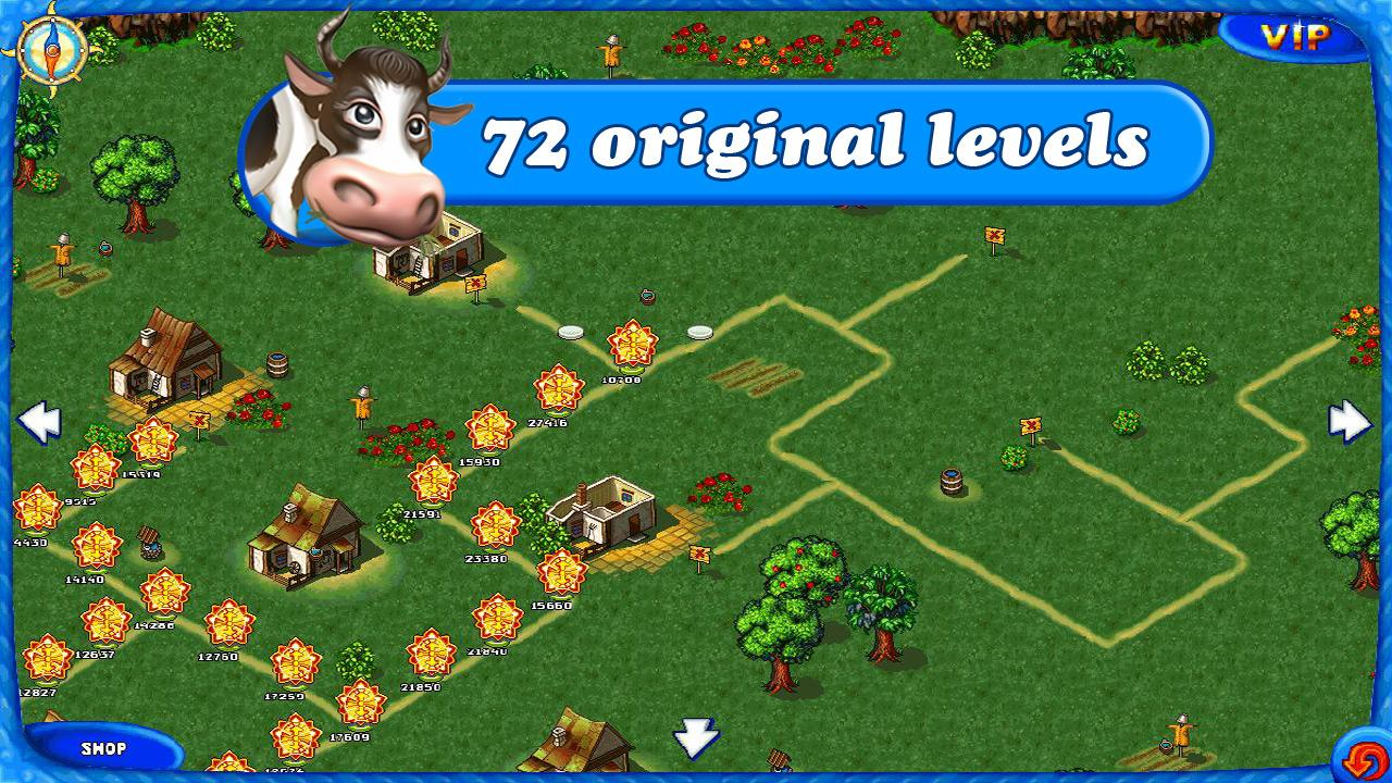 Farm Frenzy Free: Time management game- screenshot