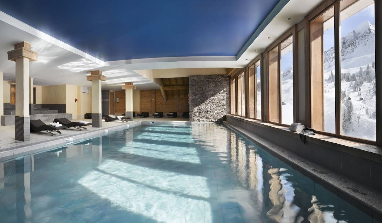 Appartement avec piscine Le Grand-Bornand