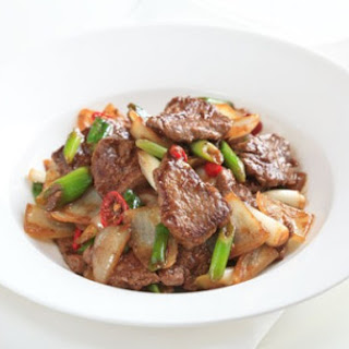 Stir-Fry Beef with Cumin and Oyster Sauce Recipe