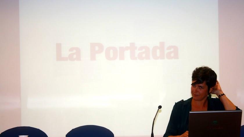 La presidenta de la Federación de Asociaciones de Mujeres, Remedios Serrano.