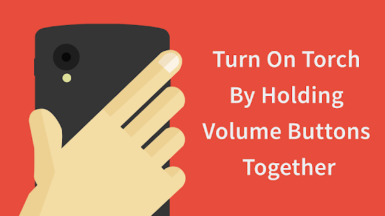 Torchie - Volume Button Torch- screenshot thumbnail