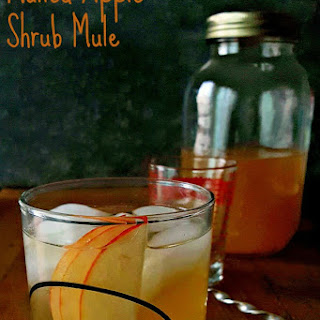 Mulled Apple Shrub Mule