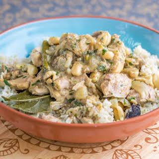 Instant Pot Cashew Chicken Curry.
