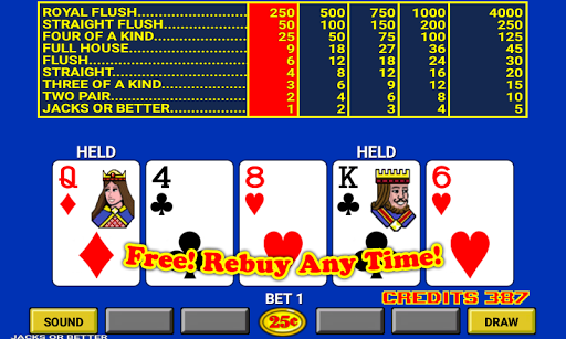 Video Poker 7.2 screenshots 1