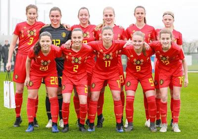Red Flames U16 speelden tegen de USA