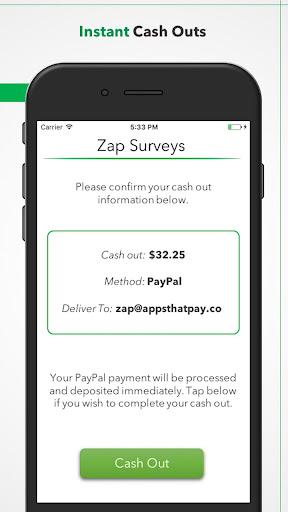 Zap Surveys 1.3.1 screenshots 5