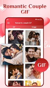 Romantic Love Couple GIF – Kiss GIF 2