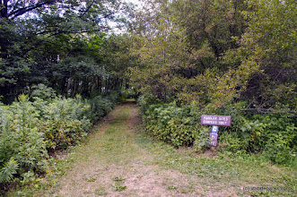 Photo: Two padler sites at Burton Island State Park reserved by the park