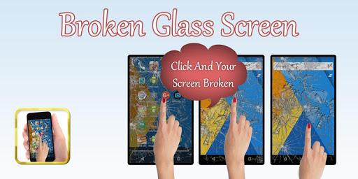Broken Crack Screen Prank