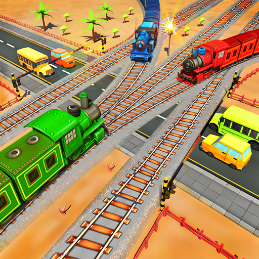 Railroad Crossing Railway Train Games