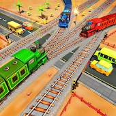 Railroad Crossing Train Games